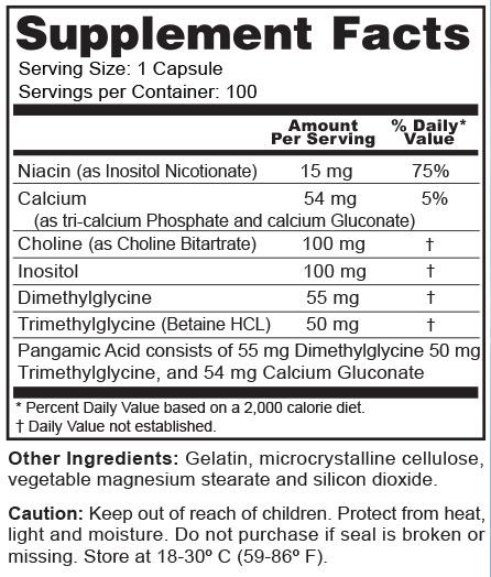 Health Genesis Super B15 TMG 100 Caps